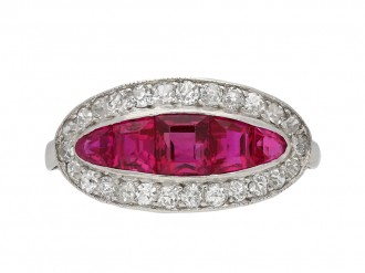 filigree inspired ruby looking good antique and engagement rings ring