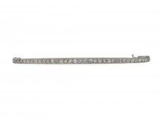 Cartier rose cut diamond bar brooch hatton garden