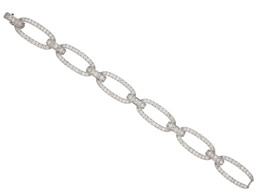 Georges Fouquet diamond bracelet berganza hatton garden
