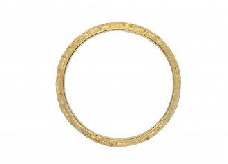 Engraved wedding ring berganza hatton garden