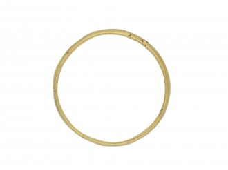 Gold posy ring Direct my wayes Lord all my dayes hatton garden