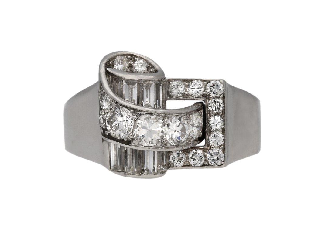 Diamond cocktail ring by Drayson berganza hatton garden