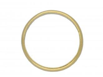 Gold posy ring Bound by faith berganza hatton garden