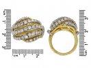 Van Cleef & Arpels diamond cocktail ring hatton garden