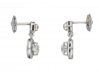 Diamond drop earrings hatton garden