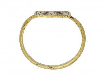 Byzantine betrothal ring 7th 8th century berganza hatton garden