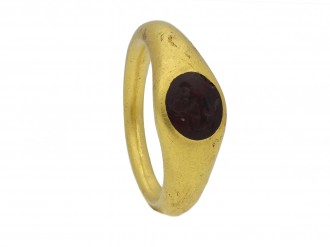 Ancient Roman signet ring berganza hatton garden