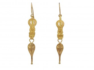 Ancient Roman earrings berganza hatton garden