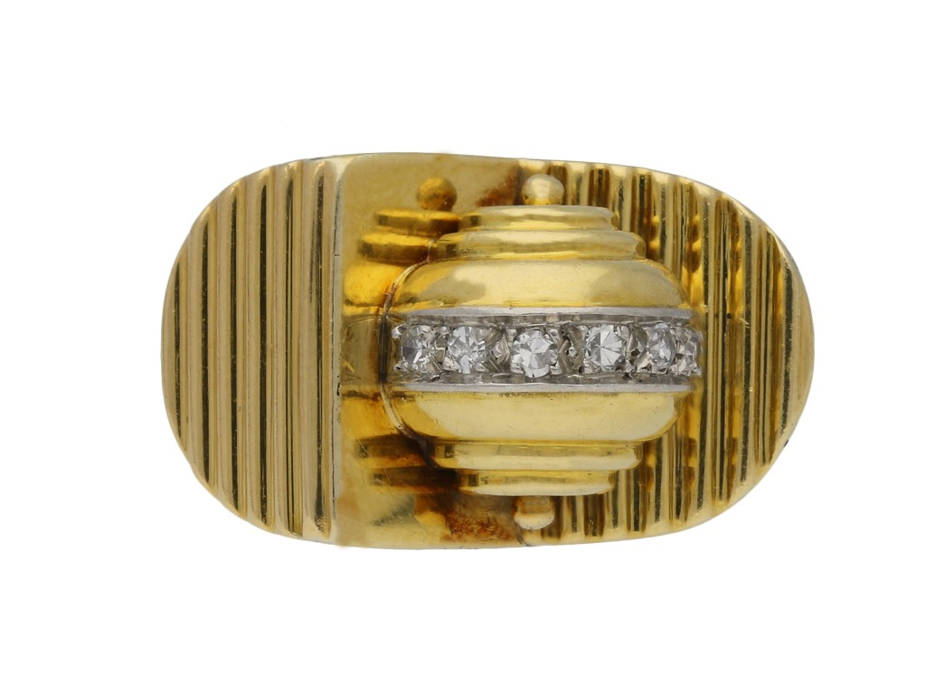 Diamond cocktail ring, French berganza hatton garden