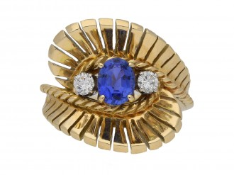 Tiffany & Co. sapphire diamond ring berganza hatton garden