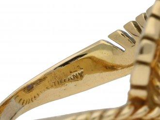 Tiffany & Co. sapphire diamond ring berganza hatton garden