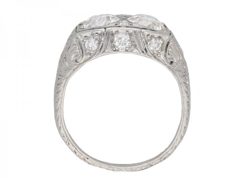 Two diamond ring Bailey, Banks & Biddle berganza hatton garden