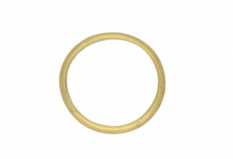 Gold posy ring, 'Knitt in one by christ alone hatton garden