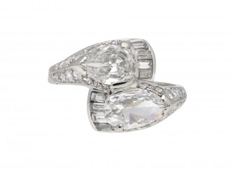 Diamond crossover ring berganza hatton garden