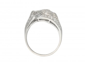 Diamond crossover ring berganza hatton garden