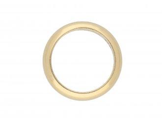 Yellow gold wedding ring by Tiffany & Co hatton garden