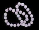 Natural Lavender jadeite jade bead necklace hatton garden