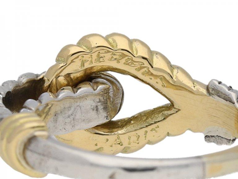 Hermes Paris silver ring berganza hatton garden