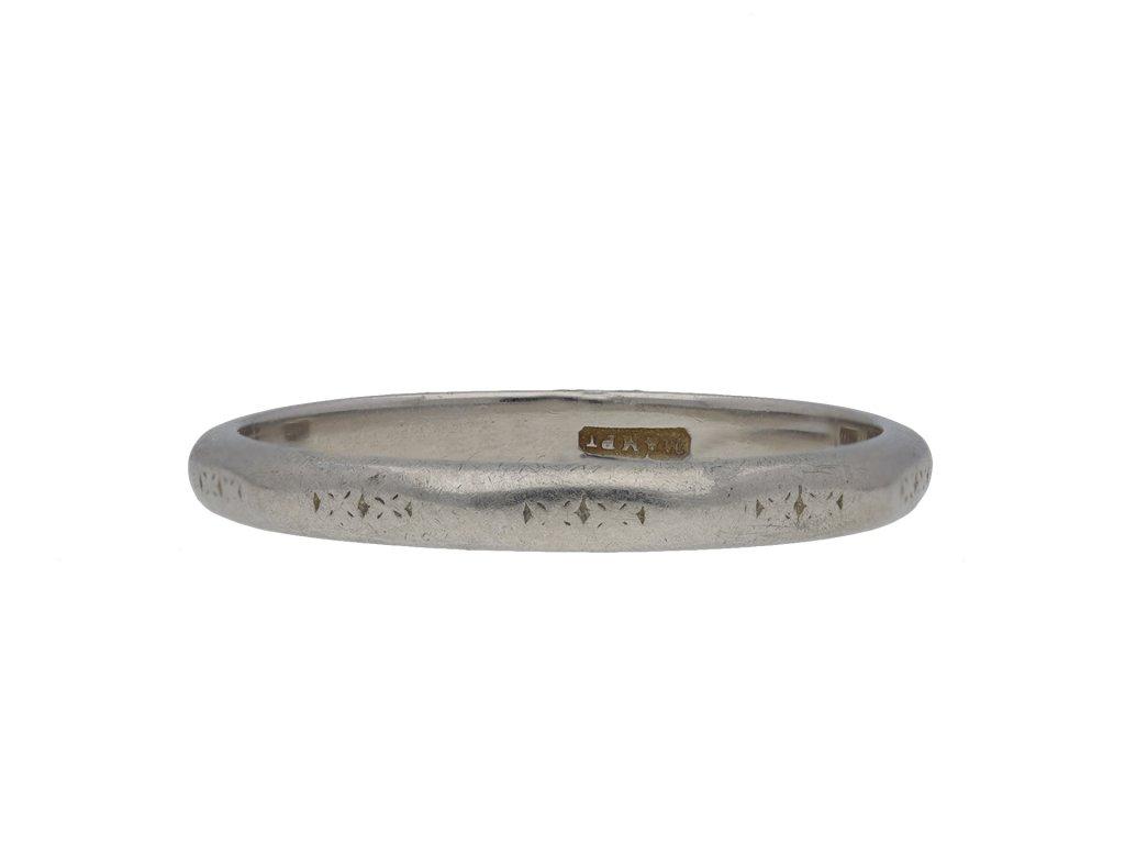 Platinum wedding ring hatton garden
