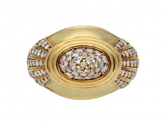 Boucheron diamond dress ring berganza hatton garden