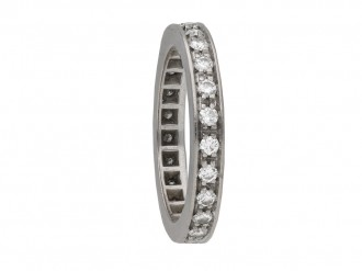 Diamond set eternity ring berganza hatton gardenDiamond set eternity ring berganza hatton garden