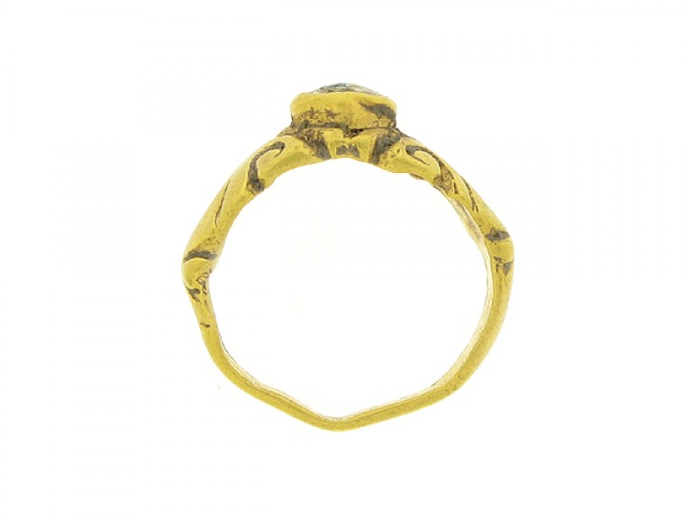 Ancient Roman ring, 3rd century AD.