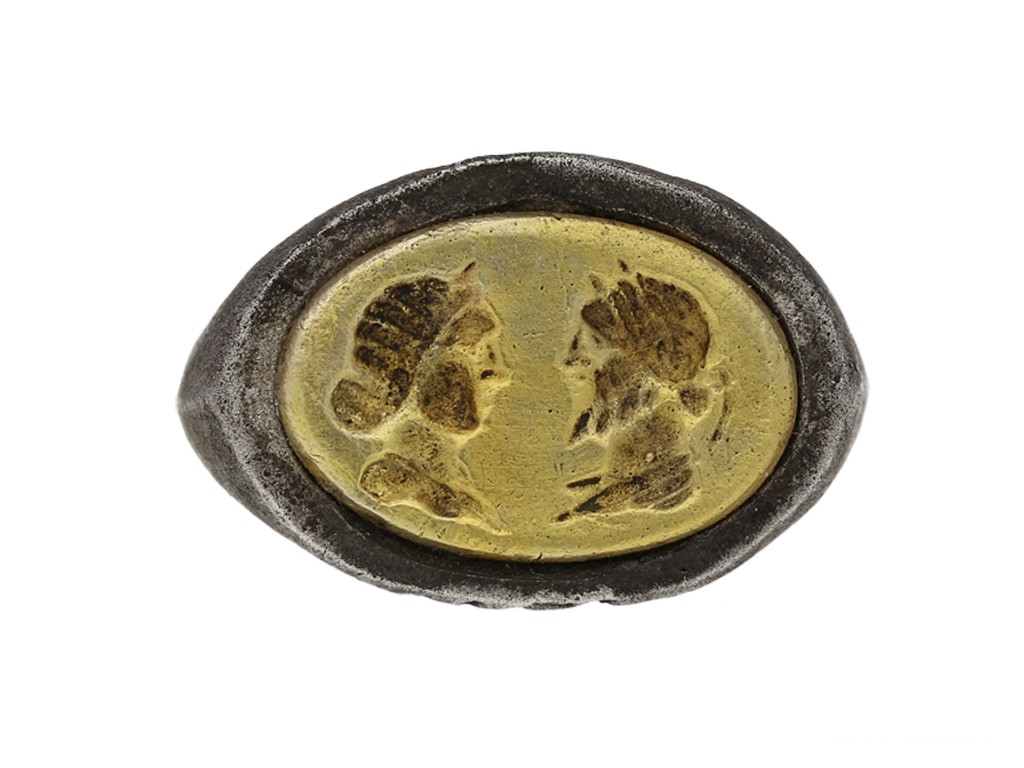 Ancient Roman marriage ring berganza hatton garden