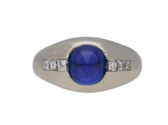 Bailey Banks Biddle sapphire diamond ring berganza hatton garden