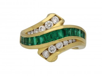 Krypell emerald and diamond ring berganza hatton garden