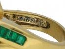 Krypell emerald and diamond ring berganza hatton garden