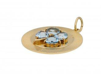 Tiffany & Co. aquamarine pendant berganza hatton garden