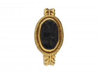 Ancient Roman intaglio ring hatton garden