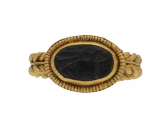 Ancient Roman intaglio ring hatton garden
