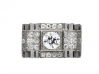 Art Deco diamond ring hatton garden