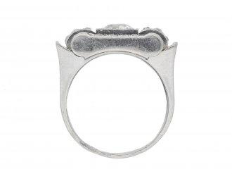 Art Deco diamond ring hatton garden