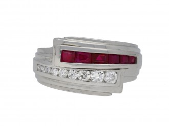 Bailey, Banks & Biddle ruby diamond ring berganza hatton garden