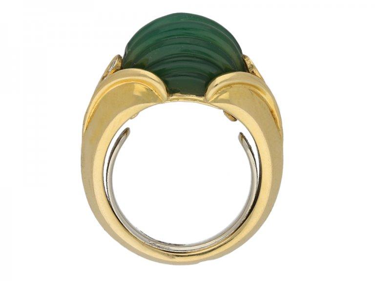 Vintage Van Cleef & Arpels diamond ring berganza hatton garden