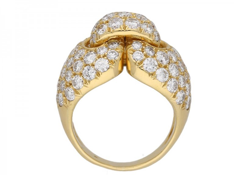 Boucheron Paris diamond ring berganza hatton garden