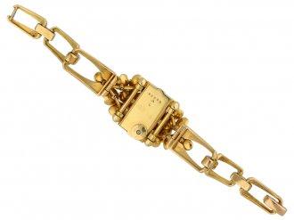 Cartier ruby set watch berganza hatton garden