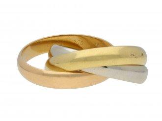 Russian wedding ring by Cartier hatton garden