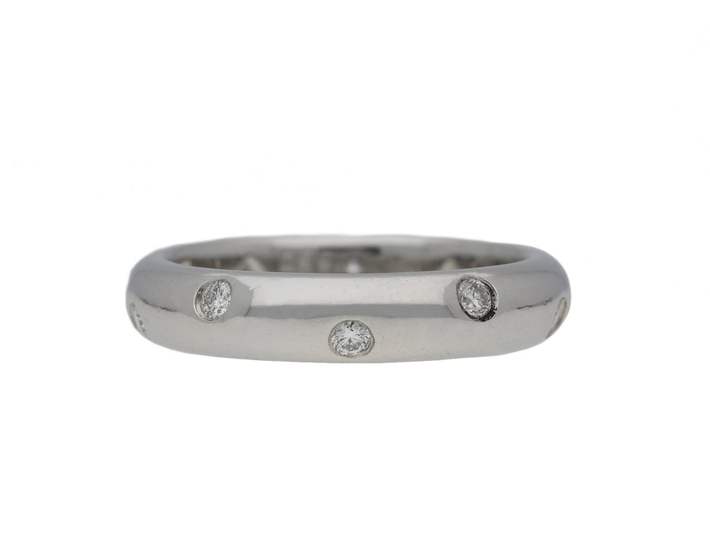 Tiffany & Co. diamond set band ring hatton garden
