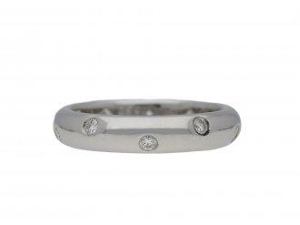 Tiffany & Co. diamond set band ring hatton garden