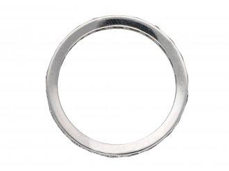 Diamond set eternity ring berganza hatton garden