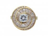 Oscar Heyman Brothers diamond screw ring berganza hatton garden
