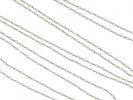 Pearl chain necklace in platinum hatton garden