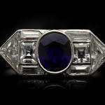 Yard Inc. Art Deco sapphire and diamond ring, American, circa 1925.