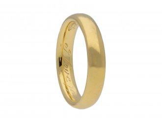 Tiffany & Co. wedding ring berganza hatton garden