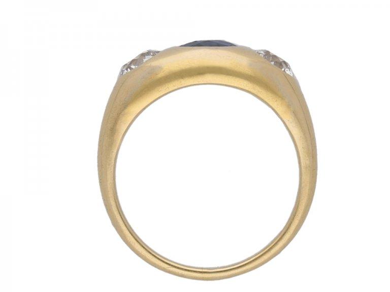 Black, Starr & Frost sapphire diamond ringberganza hatton garden