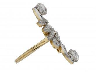 Belle Époque diamond cluster ring berganza hatton garden