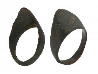 Medieval bronze archers ring hatton garden